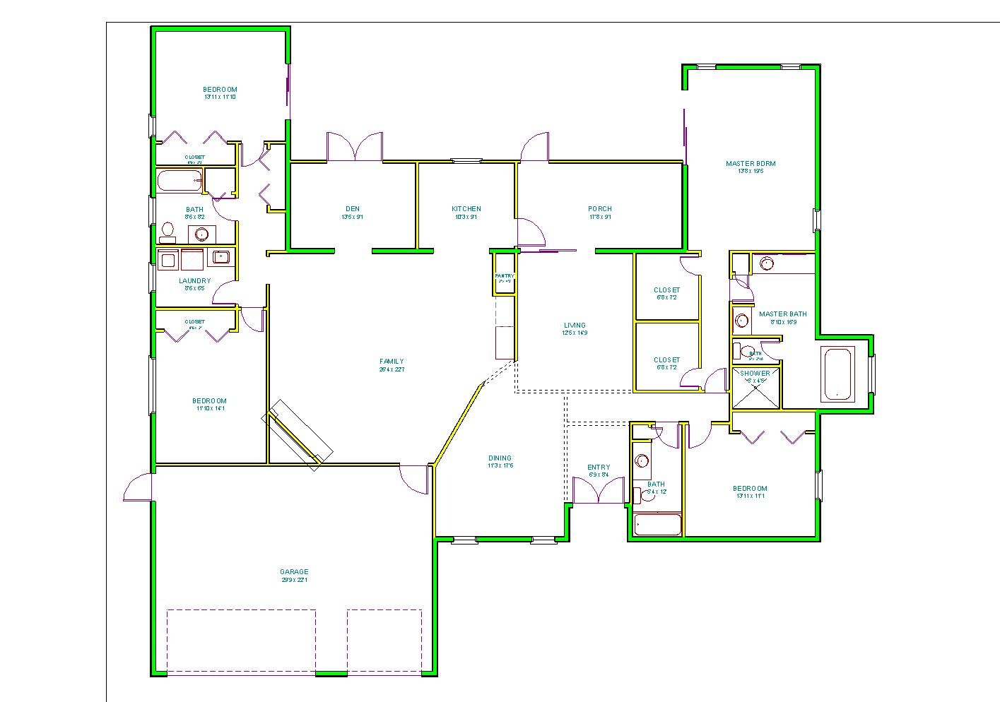 Fun with floor plans huebsch house chronicles for Design a house online for fun