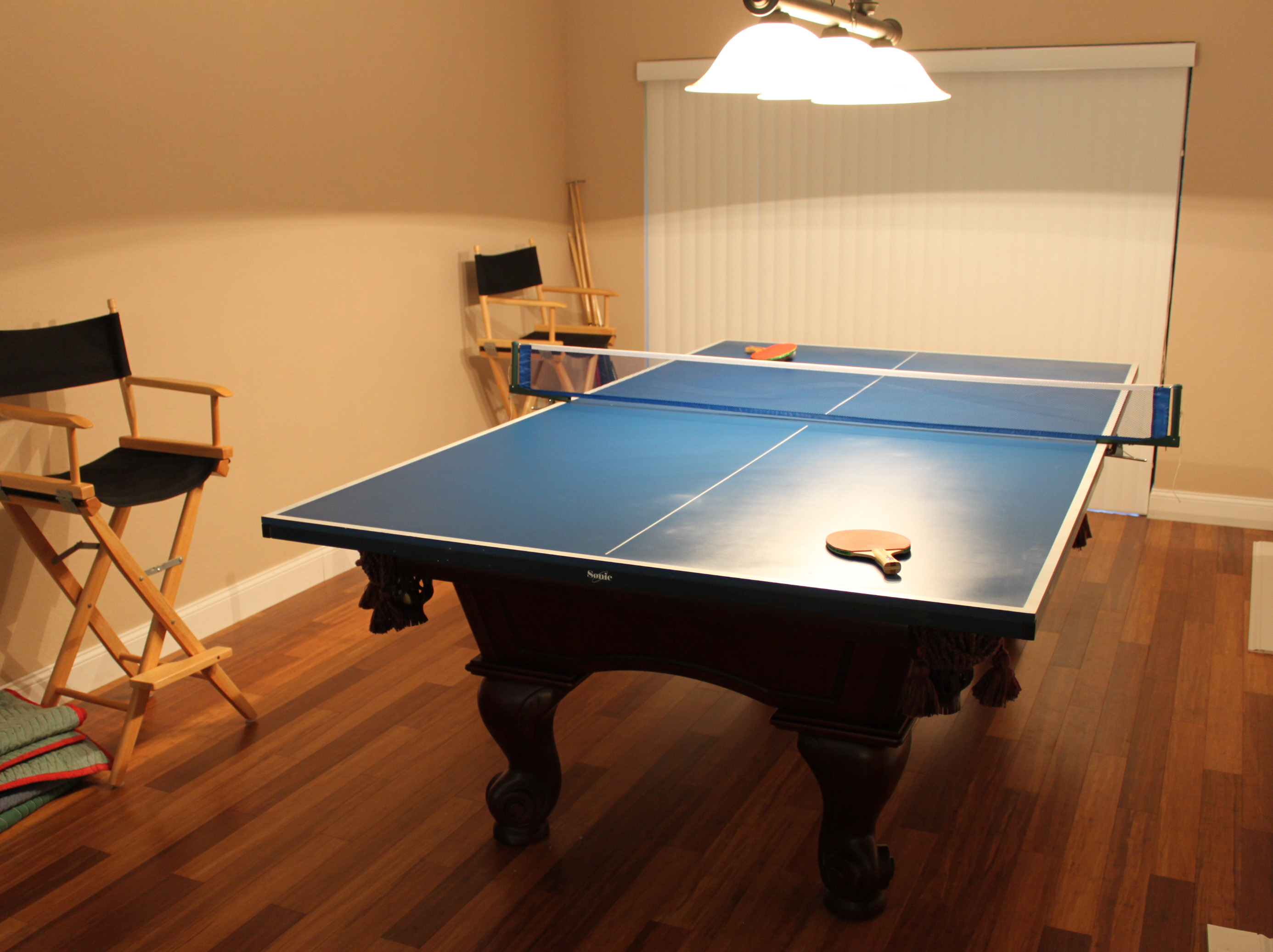 ... Ping Pong Table Topper By The Billiards Table Huebsch House Chronicles  ...