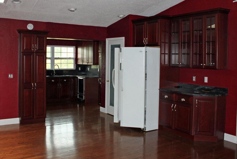 Fridge In Kitchen moving the fridge (kitchen renovation – part iv) | huebsch house