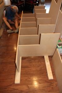 First shelves 1